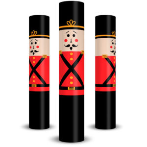 Toy Soldier Vinyl Column